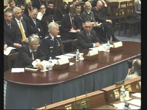 Threats from Space: Part 1, House Committee on Science, Space, and Technology, March 19, 2013