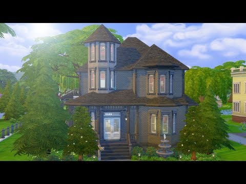 REBUILDING THE GOTH MANSION // The Sims 4: Speed Build thumbnail