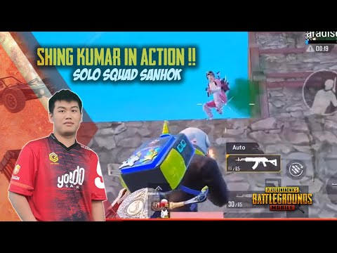 Shing Kumar in Action !! Yoodo iNaoki Solo Squad Gameplay - PUBG Mobile
