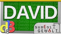 Der Name David - Namensgewalt