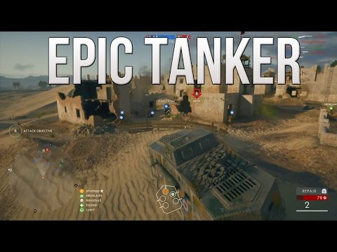 Epic Tanker! (Flamethrower Heavy Tank Gameplay) - PS4 Battlefield 1 Road to Max Rank Ep. 117!
