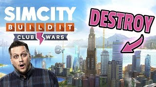 I LOST EVERY WAR - Club Wars Intro - SimCity BuildIt