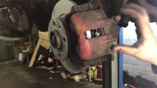 Oprav si auto sám | Výměna kotoučů destiček  Felicia - 3.Díl