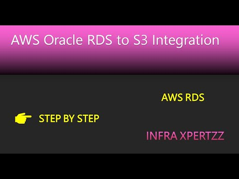 AWS RDS Oracle to S3 Integration