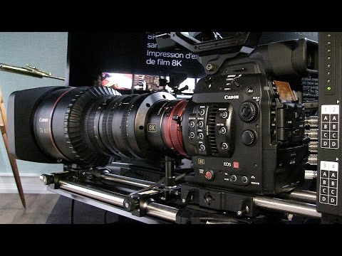 Technology Demo: Canon 8K Camera in Paris
