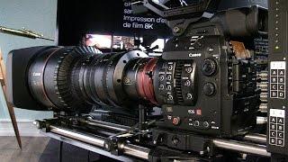 Technology Demo: Canon 8K Camera in Paris