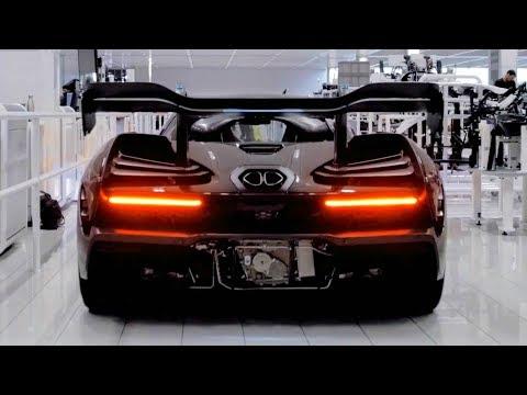McLaren Cars Production