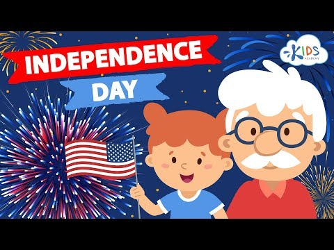 July 4th - Independence Day - Story for Kids | Interesting Facts | Kids Academy