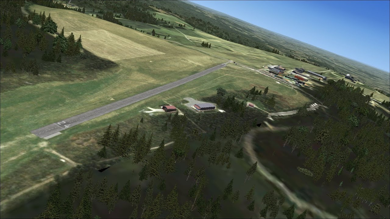【FSX】FREEWARE-SCENERY WASSERKUPPE || AEROSOFT [FULL-HD1080P]