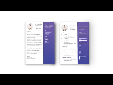 Professional Cover Letter & Resume Set