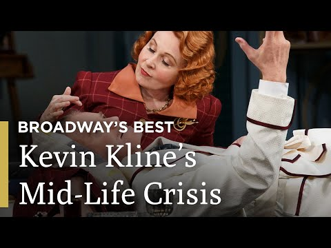 Kevin Kline, Kate Burton and Kristine Nielsen in Noël Coward's Present Laughter