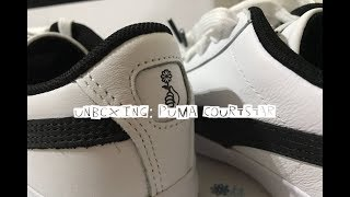 UNBOXING | PUMA COURTSTAR ( PUMA LAST COLLABORATION WITH BTS )