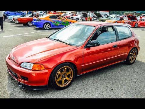 94 civic hatch engine