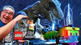 LEGO JURASSIC PARK #3   T-REX À SOLTA (LEGO JURASSIC WORLD)