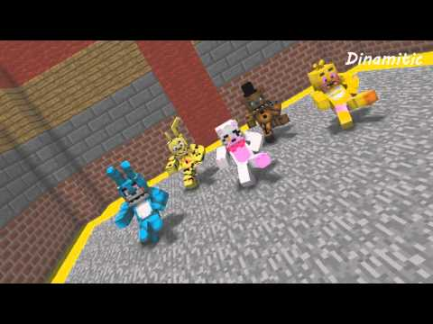 FNAF Monster School: Dance - Minecraft Animation