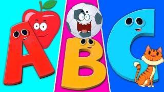Belajar abjad dalam bahasa Inggris   ABC Phonics lagu   Lagu anak anak   Phonics Song in English
