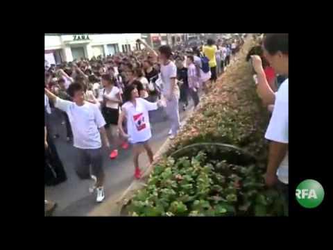 China Dalian Protest