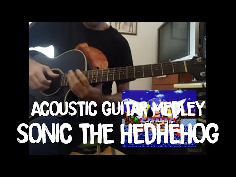 Sonic the Hedgehog - Acoustic Guitar Medley