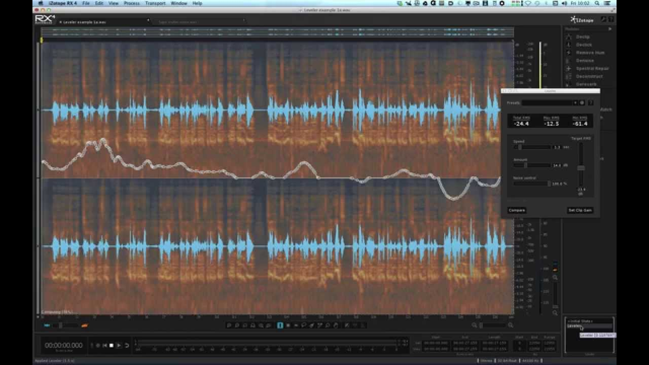 iZotope RX 4 vs 3 Feature Comparison | Creative Field Recording