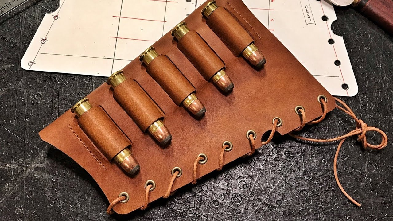 Leather Rifle Sling Making