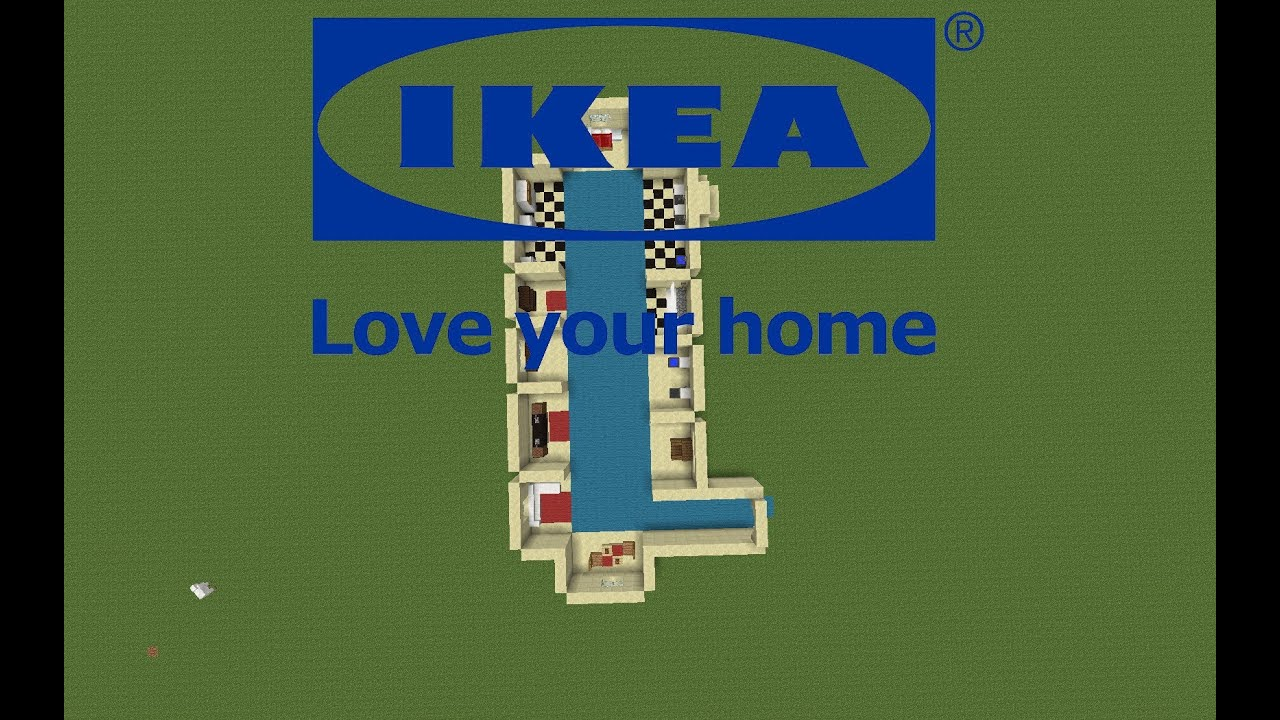 bienvenue dans ikea tuto minecraft meubles pour create your map mrbboy45 youtube. Black Bedroom Furniture Sets. Home Design Ideas