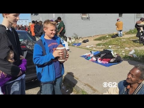 12-Year-Old Buys Necessities For Detroit Homeless With Birthday, Christmas Money