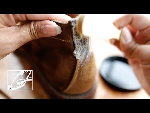How To Clean Suede Shoes (With Saphir Omni'Nettoyant)