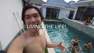 I ONLY SPENT $11 PER NIGHT FOR THIS VILLA!!!  |  Bali Travel Vlog 2017