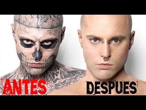 No Creerás Como Luce El Hombre Mas Tatuado Del Mundo Con Maquillaje