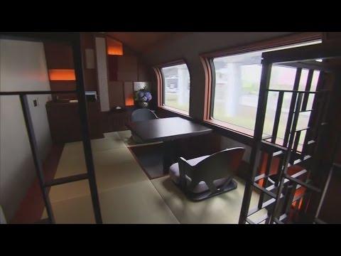 Superzug in Japan: In Punkto Luxus kann die Deutsche Bahn noch viel lernen