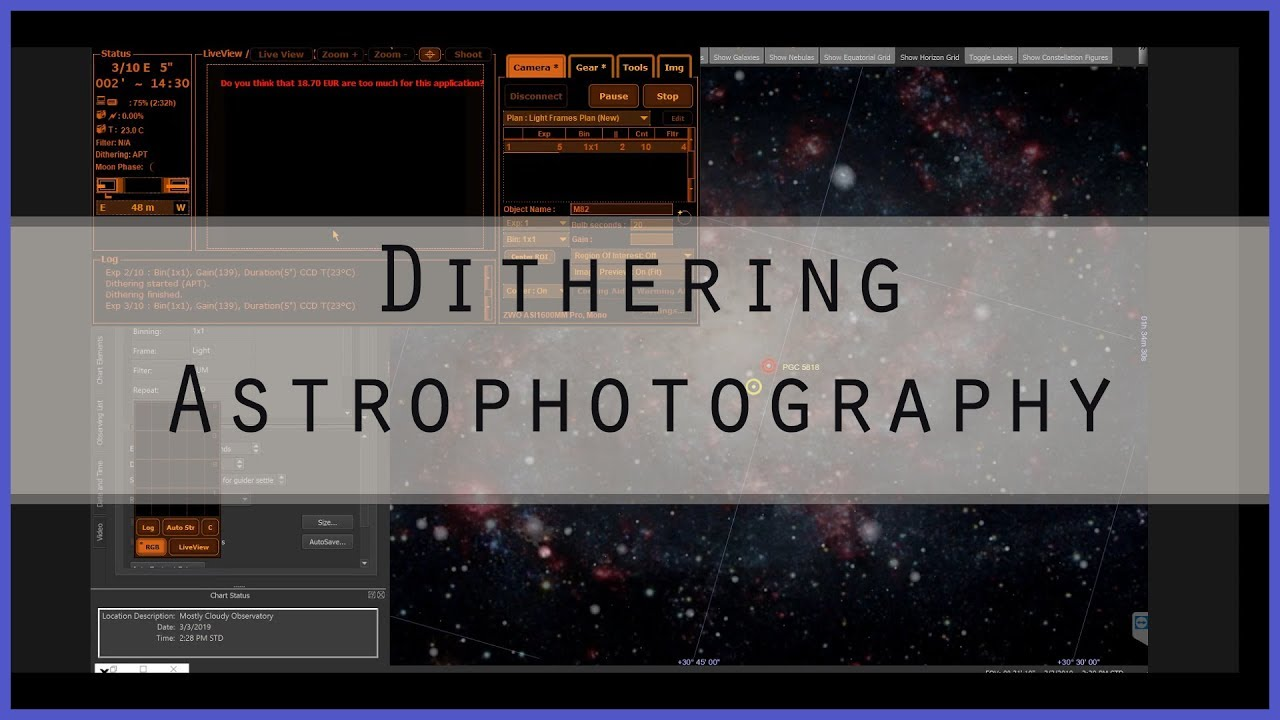 Astrophotography Dithering - Your Secret Weapon!