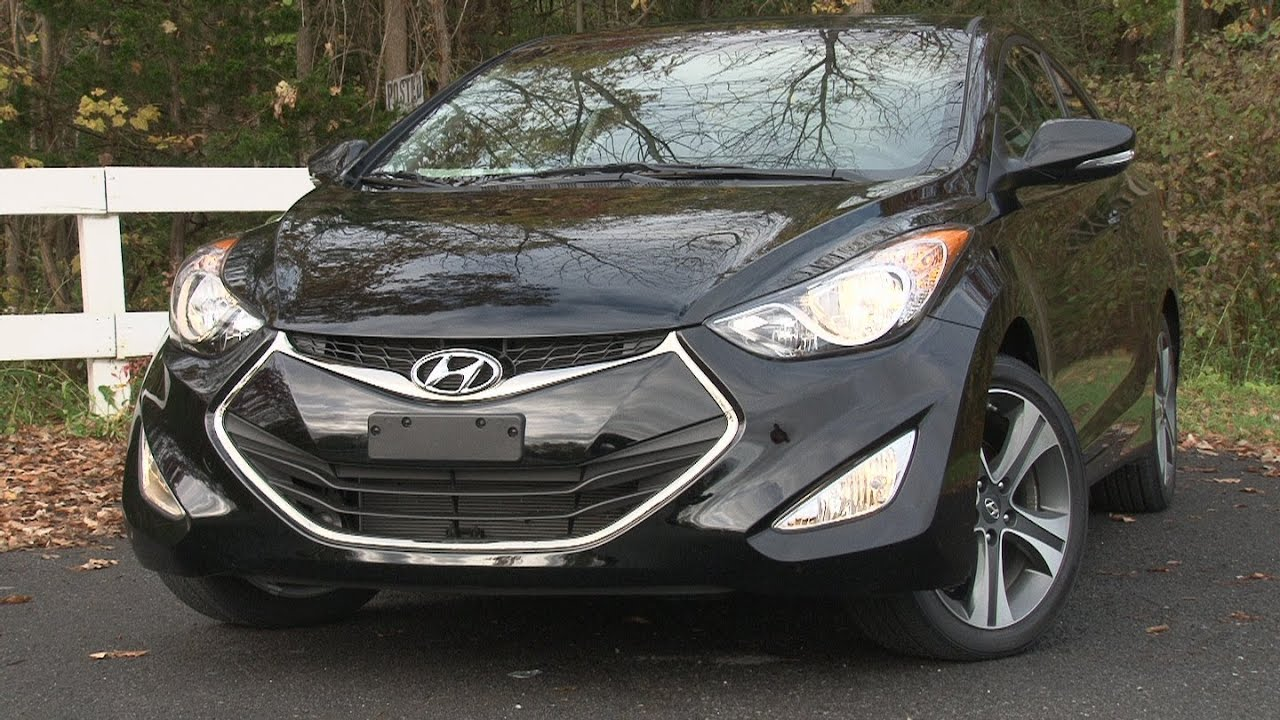 2013 Hyundai Elantra Coupe   Drive Time Review With Steve Hammes    TestDriveNow   YouTube