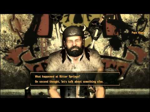 Fallout New Vegas Red Rock Canyon Oh My Papa part 1 of 2 Carl, Papa, Regis
