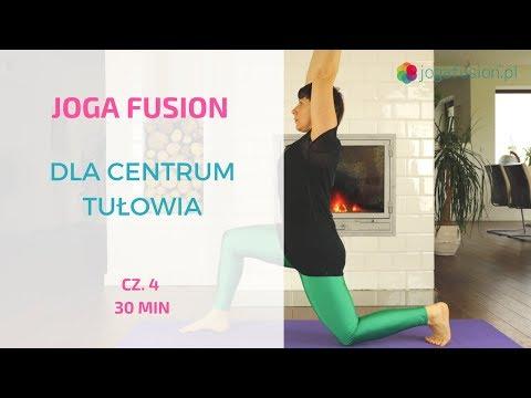 Joga fusion dla centrum tułowia cz. 4
