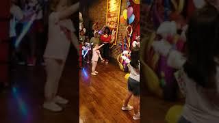 Mickey doing Baby shark dance
