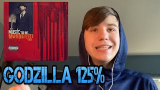Rapping Godzilla At 125% Speed!