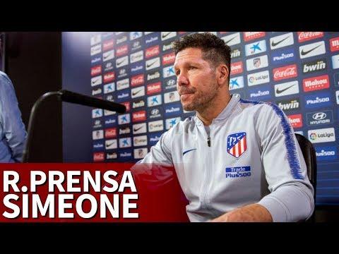 Rueda de prensa de Simeone previa al Barcelona | Diario AS