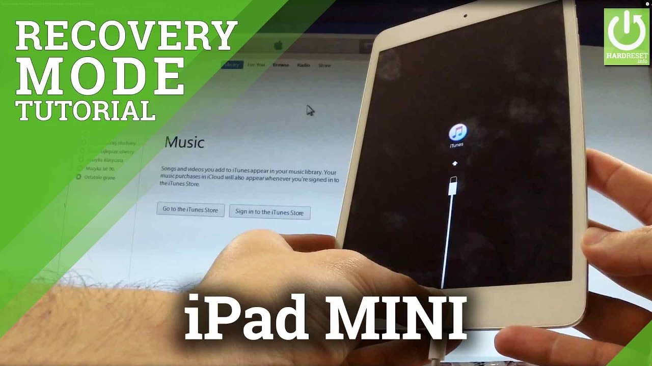 ipad mini recovery mode fix