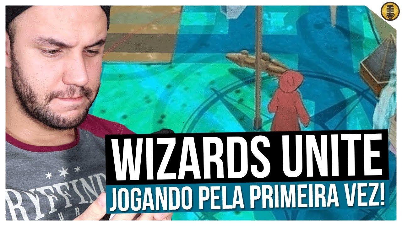 JOGANDO HARRY POTTER: WIZARDS UNITE PELA PRIMEIRA VEZ!