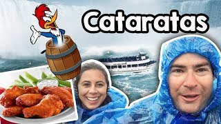 Descemos as Cataratas do Niagara e Buffalo WIngs