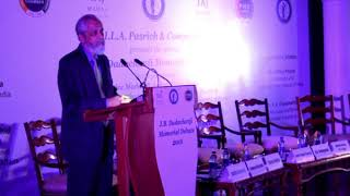 Justice Madan B. Lokur Address at second J.B Dadachanji Memorial Debate in Delhi