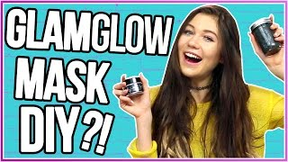 Jessie is going to DIY the Glam Glow Mud Mask! What should she try ...