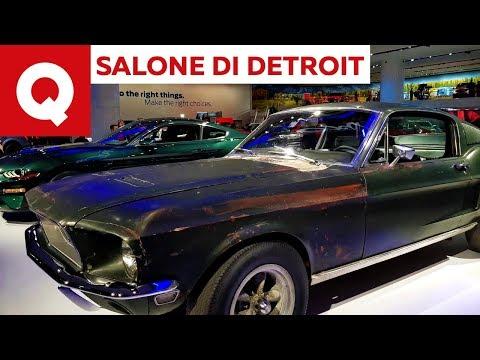 Ford festeggia i 50 di Bullitt al Salone di Detroit 2018 | Quattroruote