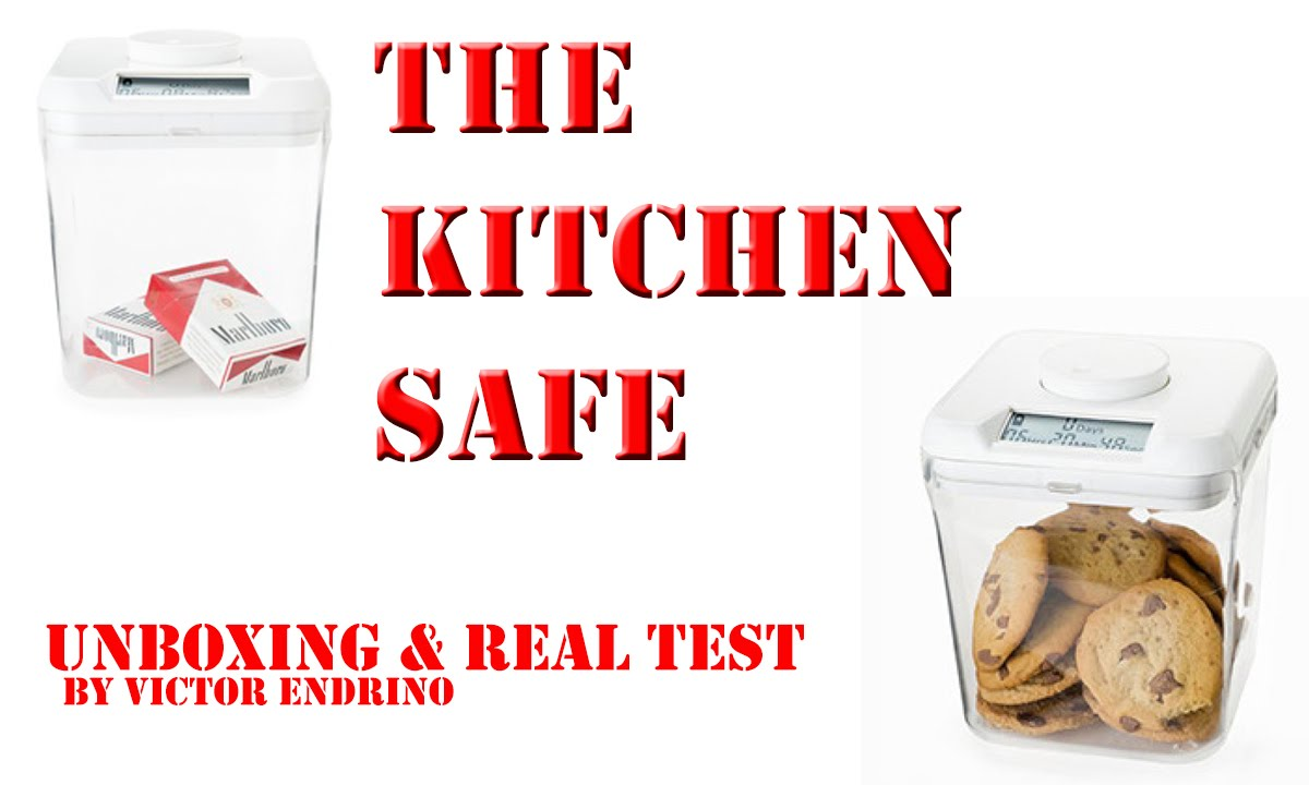 unboxing and real test of the kitchen safe subtitulat catal youtube - Kitchen Safe