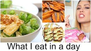 What I eat in a day #2 - gesund mit Rezepten | funnypilgrim