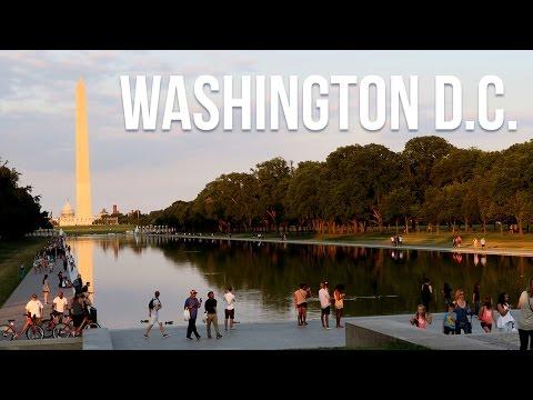 An Evening In Washington D.C. 🇺🇲 | Travel Vlog [4K]
