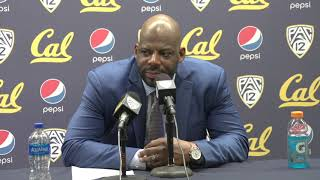 Cal Men's Basketball: Wyking Jones Press Conference (2/13/19)