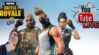 Fortnite Battle Royale (Livestream) With HackersXD5