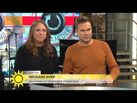 """Veckans nyhetssvep med Pihlblad och Collin: """"Som en brittisk film"""" - Nyhetsmorgon (TV4)"""