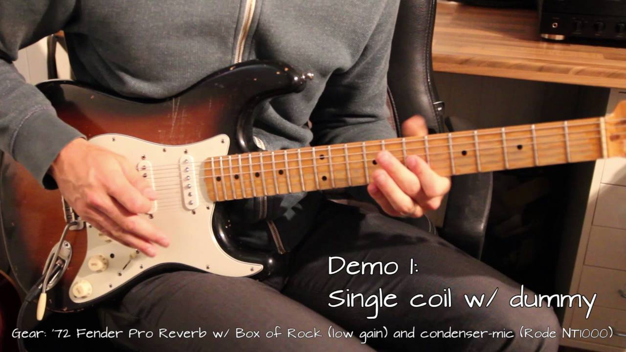 dummy coil - wiring diagram & comparison - noiseless single coil pickups  for strat - youtube